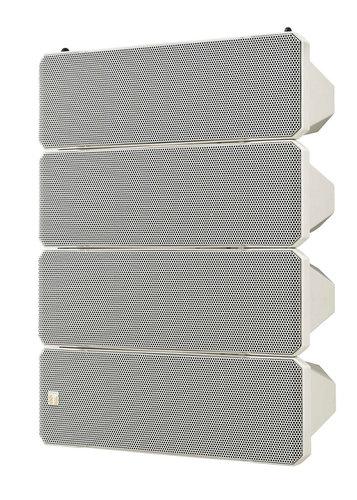 TOA HX-7W  Variable Dispersion Speaker, 750 W, 8 Ohms, White HX-7W