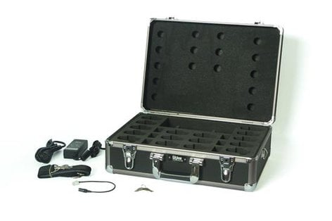 Listen Technologies LA311-03  Charger/Case, 16 Slot Asia/UK  LA311-03