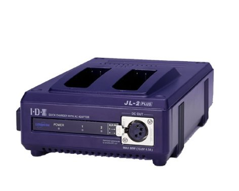 IDX Technology JL-2PLUS 2-Channel Sequential NP-Style Battery Charger with 60W Power Supply JL-2PLUS