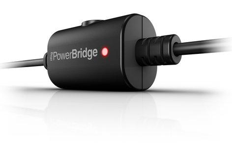 IK Multimedia iRig PowerBridge Charger for iPhone, iPad and iPod with Digital iRig Devices IRIG-POWERBRIDGE