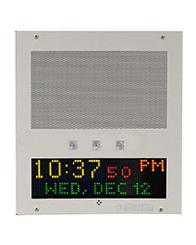 Advanced Network Devices IPSWD-RWB Flush Mount IP Speaker with Display and Flashers IPSWDRWB