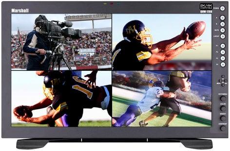 "Marshall Electronics QVW-1708-HDI 6RU 17"" 2K/4K Monitor with Quad Viewer QVW-1708-HDI"
