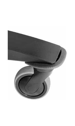 Peerless ACC-BPR SmartMount Bumper Accessory For Peerless-AV SR Series Carts ACC-BPR