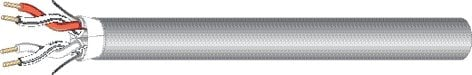 West Penn AQC430  1000 ft Aquaseal Water Blocking In-Conduit Cable with (4) 22 AWG Conductors AQC430