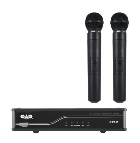 CAD Audio GXLUHHL  UHF Wireless Dual Cardioid Dynamic Handheld Microphone System L Frequency Band GXLUHHL