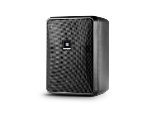 JBL CONTROL-25-1-BLK Compact Indoor/Outdoor, Background/Foreground Speaker, Black, Sold In Pairs CONTROL-25-1-BLK