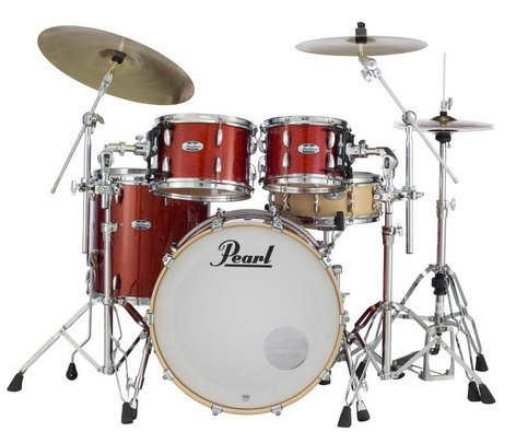 """Pearl Drums MCT924XEDP/C Masters Maple Complete 4-piece Shell Pack, 22""""/16""""/12""""/10"""" MCT924XEDP/C"""