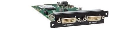 TV One CM-DVIU-2IN Universal DVI CORIOmaster Input Module Card CM-DVIU-2IN