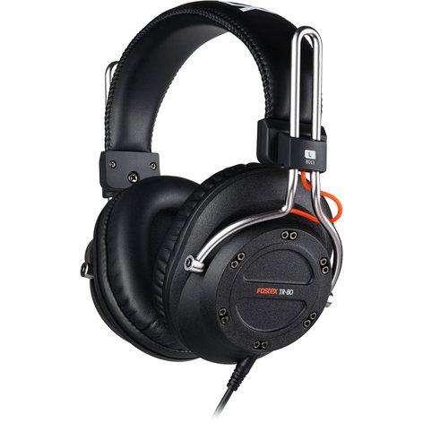 Fostex TR-80-80  Closed Stereo Headphones, 80 Ohm TR-80-80