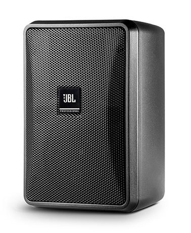 JBL Control 23-1 Ultra-Compact Indoor/Outdoor Background/Foreground Speaker, Black, Priced Each/Sold in Pairs CONTROL-23-1-BLK