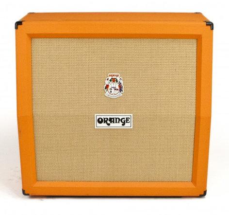 "Orange Amplification PPC412AD Angled 4""x12"" Guitar Speaker Cabinet PPC412-A-ORANGE"