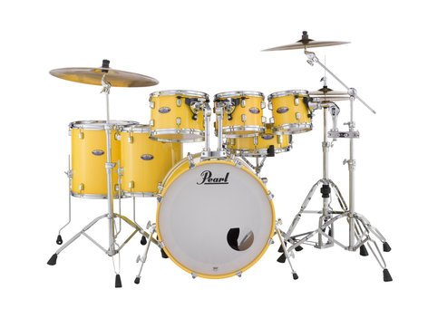 """Pearl Drums Decade Maple Series 7-piece Shell Pack,  22""""/16""""/14""""/12""""/10""""/8""""/14"""" DMP927SP/C"""