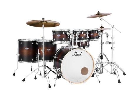 "Pearl Drums DMP927SP/C Decade Maple Series 7-piece Shell Pack,  22""/16""/14""/12""/10""/8""/14"" DMP927SP/C"