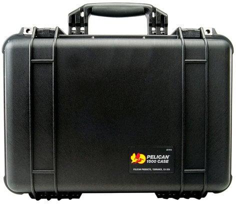 Pelican Cases PC1500NF-BLACK Medium Black Case with Empty Interior PC1500NF-BLACK