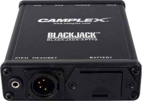 Camplex BLACKJACK-APTT2  ATEM Headset Belt Clip Adapter, 4-Pin MXLR BLACKJACK-APTT2