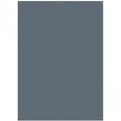Westcott 620  5' x 7' Natural Gray Wrinkle-Resistant X-Drop Backdrop (1.5 x 2.1m) 620