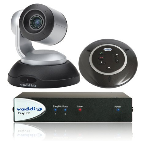 Vaddio ClearSHOT Conference Bundle ClearSHOT Conference Bundle With White Camera CLEARSHOT-CONF-BDL-W