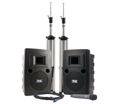 Anchor LIB-DP-WB8000 Speaker With Built-In Bluetooth, CD/MP3 Combo Player And Wireless Receiver LIB-DP-WB8000