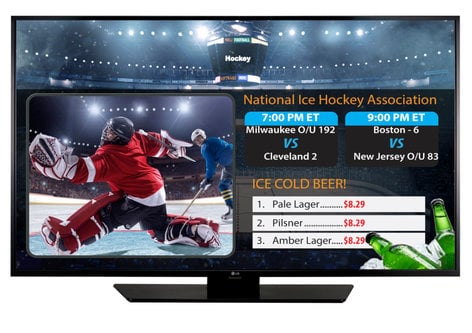 """LG Electronics 65LX540S  65"""" Display with TV Tuner and SuperSign 65LX540S"""