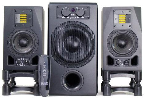 ADAM Audio BUNDLEA3XSUB7 Studio Monitor Bundle, 2- A3X 1- SUB7 MATCHED BUNDLEA3XSUB7
