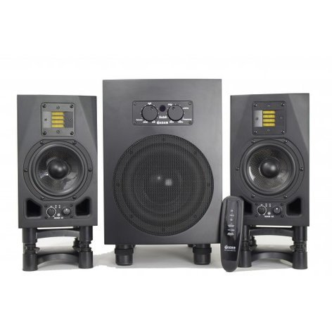 ADAM Audio BUNDLEA5XSUB8 Studio Monitor Bundle, (2) A5X and (1) SUB8 MATCHED BUNDLEA5XSUB8