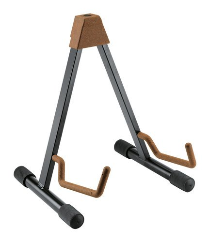 K&M Stands 17541 A-Guitar Stand Acoustic Guitar Stand with Cork 17541-013-95