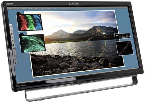 "Planar PXL2430MW 24"" Optical Touchscreen Monitor PXL2430MW"