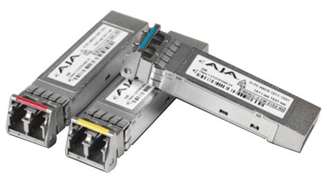 AJA Video Systems Inc HDBNC-2RX-12G  12G Receiver on BNC SFP  HDBNC-2RX-12G