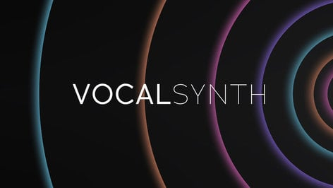 iZotope VocalSynth Multi-Effects Plugin [VIRTUAL] VOCAL-SYNTH