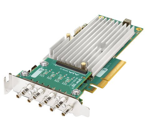 AJA Video Systems Inc CRV44-S-NCF 8-lane PCIe 2.0, 4 x SDI, Fanless Version with No Cables CRV44-S-NCF