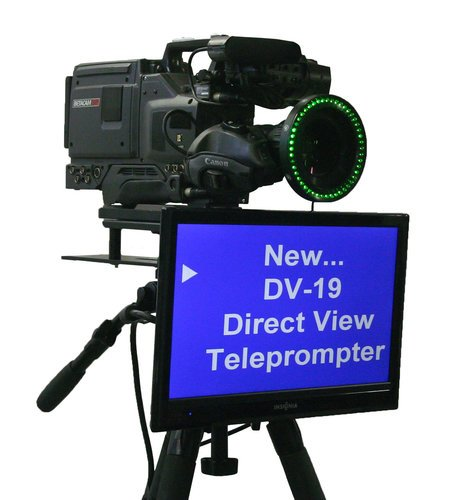"""Mirror Image Teleprompter DV-19  19"""" Direct View Teleprompter LCD Monitor with Prompting Software DV-19"""