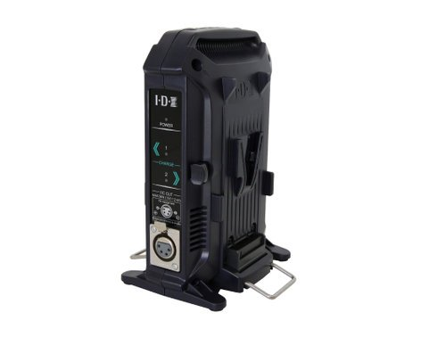 IDX Technology VL-2X  2-Channel Sequential ENDURA V-Mount Charger with 36W Power Supply VL-2X