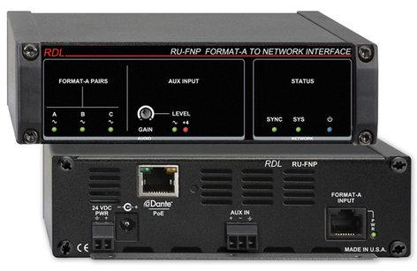 RDL RU-FNP  Format-A to Network Interface RU-FNP