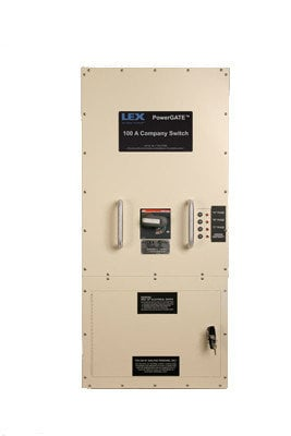 Lex Products Corp CS-100F-C5DS1 5-Wire 100A Type 1 5-Wire Company Switch (Sand Color) CS-100F-C5DS1