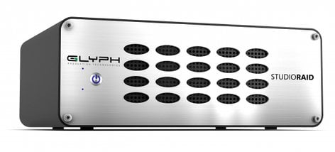 Glyph SRTB8000 StudioRAID Thunderbolt 2 External RAID 8TB Hard Drive, Thunderbolt 2/USB 3.0 Compatible SRTB8000