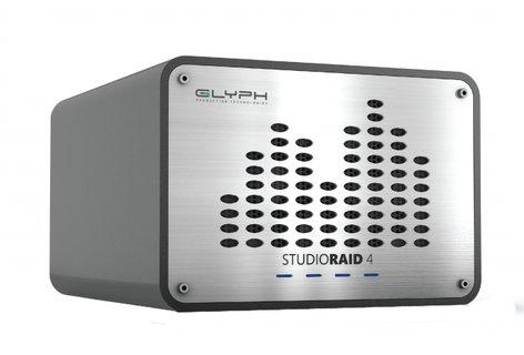 Glyph Technologies StudioRAID 4 External RAID 12TB Hard Drive, USB 3.0/FireWire 800/eSATA Compatible SRF12000