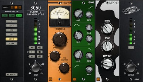 McDSP 6050 Ultimate Channel Strip Plugin Bundle with EQ, Compressor, Gate, Expander, Saturator, and Filter Modules - Native 6050-ULTIMATE-CH-NAT