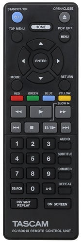 Tascam BD01U Blu Ray Player BD01U