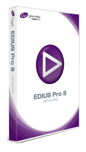 Grass Valley EDIUS Pro 8 Education Edition [BOXED] Nonlinear Video Editing Software EDIUS-PRO-8-EDU