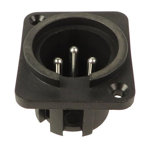 Mackie 400-041-00  XLR Main Out Jack for 1402 VLZ and CFX 400-041-00