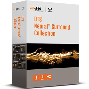 Waves DTS Neural Surround Collection [VIRTUAL] Audio Mixing Plugin Bundle DTSNSURCL