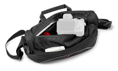 Manfrotto MB MA-MS-GY  Small Gray Active Messenger Bag for DSLR/CSC MB MA-MS-GY