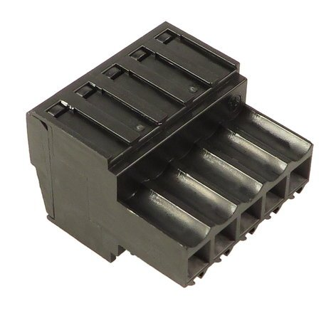 ETC/Elec Theatre Controls J3228  TBLK 5F 3.5mm Plug Connector J3228