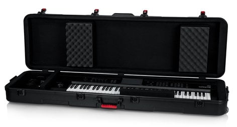 Gator Cases GTSA-KEY88SLXL  TSA ATA Slim XL 88-note Keyboard Case with Wheels GTSA-KEY88SLXL