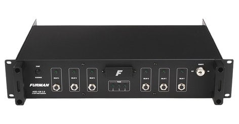 Furman ASD-120-2.0 AC Sequenced Power Distributor, 120A ASD-120-2.0