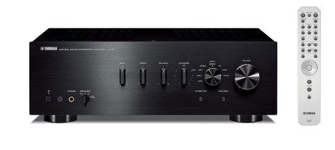 Yamaha A-S701 Integrated Hi-Fi Amplifier, Black A-S701-BLACK