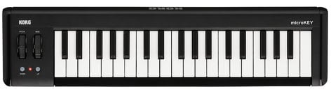 Korg microKEY2-37 37-Key iOS-Powerable USB MIDI Controller with Pedal Input MICROKEY-2-37