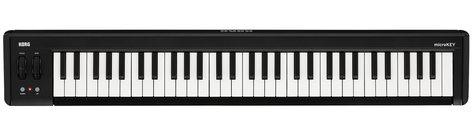 Korg microKEY2-61 61-Key iOS-Powerable USB MIDI Controller with Pedal Input MICROKEY-2-61