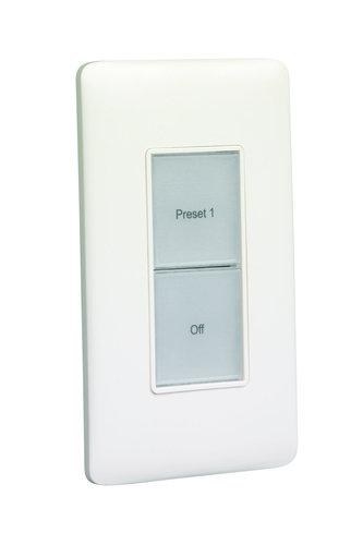ETC/Elec Theatre Controls E1002  Inspire 2-button Control station  E1002