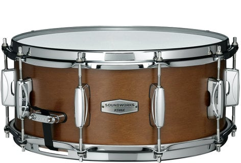 Tama DKPMRK Soundworks Kapur Matte Brown Snare Drum DKPMRK